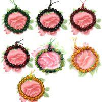 bars plastic box - 8mm Glass Gourd Agate Bracelet Colorful Beads Buddha Bracelet Chain Supertop C00500