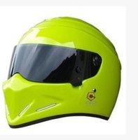 Wholesale Electric car StarWars pig motorcycle helmet stig fiberglass helmet full helmet men Four Seasons personality ATV4 capacete Green