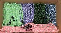 baseball wristbands - 2016 numbers for wristband hot selling new arrival ropes tornado braided titanium necklace baseball football many colors size quot quot quot