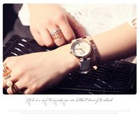 advanced slimming - GUOU Wristwatches Real Leather Slim Elegant Trend With A Calendar And More Durable Colors Advanced Vacuum Plating Feel Good