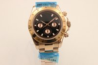 auto zone sales - Hot Sale Brand Auto Watch Men Gold Skeleton Black Dial Gold Band Day Tona Watch Hkpost