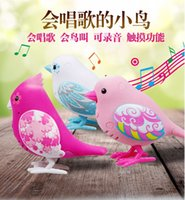 Wholesale 2016 HoT Little Live Pets Staff Designer Toys Bird Interactive Clever Talking Parakeet Toy Kids Christmas Gift