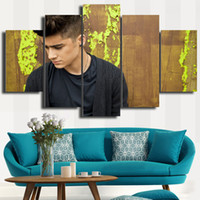 bboy pictures - 5 Set BBoy in thinking HD Decorative Art Picture Painting On Canvas For Living Room Home Decor DH003