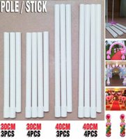 Wholesale Balloon column pole Plastic sticks Wedding decorations Event party supplies Home Garden decor CM column poles no base