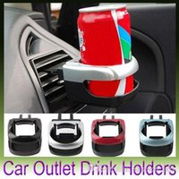 Wholesale Clip on Auto Car Truck Vehicle Air Condition Vent Outlet Can Drinking Water Bottle Coffee Cup Mount Stand Holder Accessories