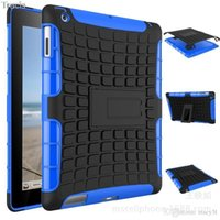 Wholesale Case for iPad inch Hybrid Heavy Duty Stand Case Rugged Silicon Rubber Armor Hard Shell Impack cover for ipad