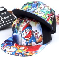Wholesale 2 Colors Poke Go Pikachu Baseball Caps Snap Backs Hats Cartoon Embroidery Canvas Hip Hop Pocket Animal Monster Cosplay Costume