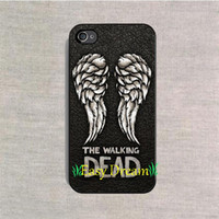 apple wings - Phone Case The Walking Dead Wing cover case for iPhone s s c s Plus iPod touch Samsung s6 edge cases