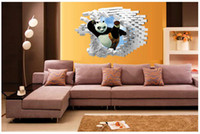 abstract free wallpaper - DHL D Kungfu Panda Wall Stickers Kid Room Home Decoration living room WallPaper Removable cm