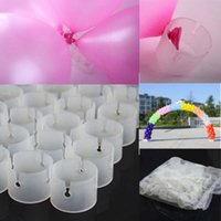 Wholesale 50Pcs Decorative Decor Balloon Arch Folder Convenient Clip Multiple Accessories party supply GD