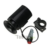 Wholesale New Sounds Black Bicycle Super loud Electronic Bell Alarm Siren Horn Loud Speaker with Retail