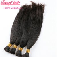 bulk - 7A Brazilian Human Hair Straight Mixed Length Hair Wholesalers Bulk Hair Peruvian Indian Malaysian Chinese Straight Human Hair Bulk
