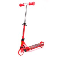 Wholesale Ferrari Child Kids Push Kick Scooters Wheels Foldable Ajustable Alumimun ABEC for Boys and Girls Outdoor Sports FXK9