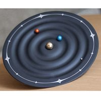 ball wall clock - Orbit Planet Clock Magnetic Galaxy Ball Clocks Wall Mounted Or Desktop quot
