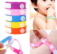 Cheap 2016 Hot sale natural cute Anti Mosquito Bug Repellent Bracelet Wrist Band Natural No Insects mixed colors