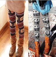 Wholesale Super Slimming Leggings - Fashion Warm Leggings Women Autumn winter Arrival Casual Warm Winter Faux Velvet Legging Knitted Thick Slim Leggings Super Elastic ouc023
