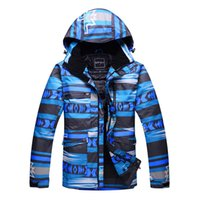 Wholesale High Quality Waterproof Windproof Ski Jacket for Men Male Snowboard Jacket Outdoor Hiking Cycling Coat for Cold Weather Thicken Thermal New