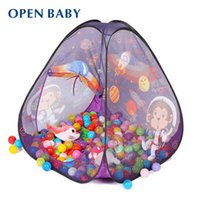 baby play space - Open Baby Sale Large Outer Space Child Toy Tent With Ocean Balls Free Indoor Outdoor Breathable Game House Kid Play Tent