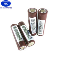 Wholesale Authentic Battery mah A Max Discharge High Drain Batteries Crushing PK Sony VTC5 VTC4 LG HG2 HE4 HE4 MJ1 Fedex