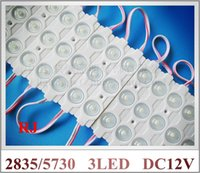 al angle - AL ABS injection LED module with lens wide angle waterproof DC12V W SMD5730 SMD2835 led IP67 mm mm mm CE ROHS