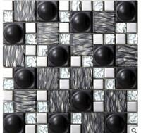 azulejos de mosaico de gran tamao azulejos de mosaico de metal slido metal mosaico de