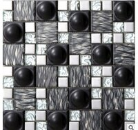 Wholesale Large block mosaic tiles Solid metal mosaic tiles Metal electroplating mosaic