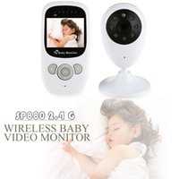 Wholesale Hot Sale Wireless Video inch LCD Display Baby Monitor Security Camera Way Talk NightVision IR LED Temperature Monitoring