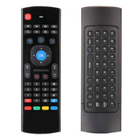 Wholesale 1 Set G Mini Wireless Remote Control Full Keyboard TV Remote Air Mouse with USB Receiver For XBMC Android TV Box Mini PC