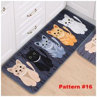 Wholesale 26 Patterns Cute Cat Carpets Many Size Polyester Floral Living Room Rugs Printed Rectangle Drop Shipping