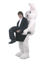 big bugs - Big Rabbit Mascot Easter Bunny Costume Adult Size Cartoon Character Rabbit Bugs Theme Carnival Fancy Dress Kits Suit