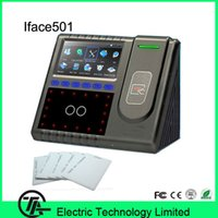 Wholesale Biometric Iface501 ID card time attendance and facial access control system TCP IP communication