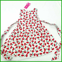 american cherry flooring - cherry red love heart girls dresses fashion bright style children kids vestidos overalls outfit new arrival hot selling