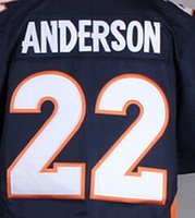 anderson sleeves - New C J Anderson Jersey Football Elite Jersey Best quality Authentic Jersey Size M XXXL Accept Mix Order
