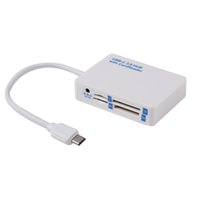 Wholesale All In One USB3 TYPE C to USB3 HUB TF SD MS Duo M2 Card Reader For New quot Macbook