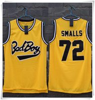 bad boy shorts - Stitched Swingman Notorious B I G Biggie Smalls Bad Boy Jersey Cheap Throwback HOT SALE With Brand logo Collection