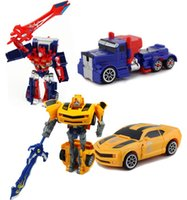 Wholesale m119 Transformation Optimus Prime Bumblebee Robots Action Figures Toys For Kids Gift Juguetes Brinquedos