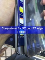 Wholesale Free DHL Curved screen S7 Edge Real G LTE inch Android Goophone Smart phones MTK6735 Quad Core Cell Phone Show OCTA GB RAM GB ROM
