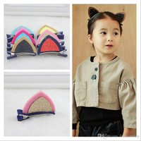 Wholesale Fashion Lovely cat ears hairpin children s hair ornaments Children s Hair Accessories