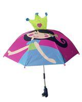 baby buggy umbrella - Girl Baby Umbrella Buggy Brolly Pram Rain Sun Shade Parasol Canopy UV Coating