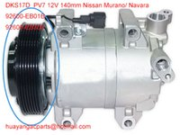 Cheap compressor clutch fit Nissan Murano  Navara 92600-EB01B 92600-EB300 DKS17D 7pk 12V 140mm