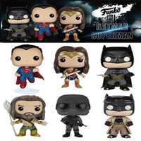 aquaman action figure - 2016 new funko pop Batman vs Superman Dawn of Justice Knightmare Batman Action Figures WONDER WOMAN AQUAMAN toy