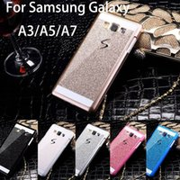 a5000 - Bling Luxury phone case For Samsung Galaxy A3 A5 A7 Shinning Back Cover Sparkling Case For Galaxy A3000 A5000 A700