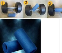 Wholesale 2016 Fashion Top quality MONSTER GRIPZ BARBELL DUMBBELL THICK FAT BAR HAND GRIPS HOME GYM GRIPZ