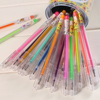 Wholesale SCM Korea Cute Secret Garden Candy colors Colorful Painting Gel Pencil Highlighters with mm