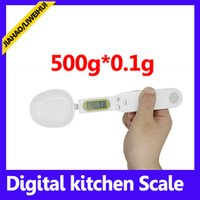 Wholesale Digital Spoon kitchen Scale g to g weighing Scales Measuring Spoons with retail packing MOQ