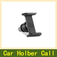Wholesale Universal car phone holder stand for iphone s plus degrees car air vent mount holder for huawei P8 lite support GPS DVR