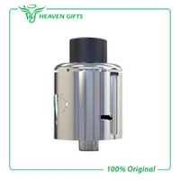air intake systems - Desire Yuri RDA Atomizer Yuri Rebuildable Dripping Atomizer With Large Build Deck Inverted Bevel Bottom Air Intake System SS Color