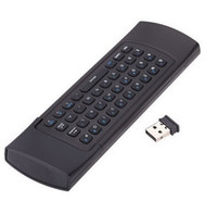 Wholesale 10pieces Factory price G Remote Control Air Mouse Wireless Keyboard for MX3 Android Mini PC TV Box new arrival