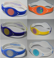 american power energy - Double Layer Power Energy Band Wristband Silicone Bracelet MC049 for Game energy