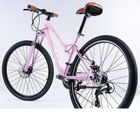 Wholesale MONTANA new arrival women mountain bike disc brakes front and rear bicycle shift recreational vehicles outdoor sports preferred